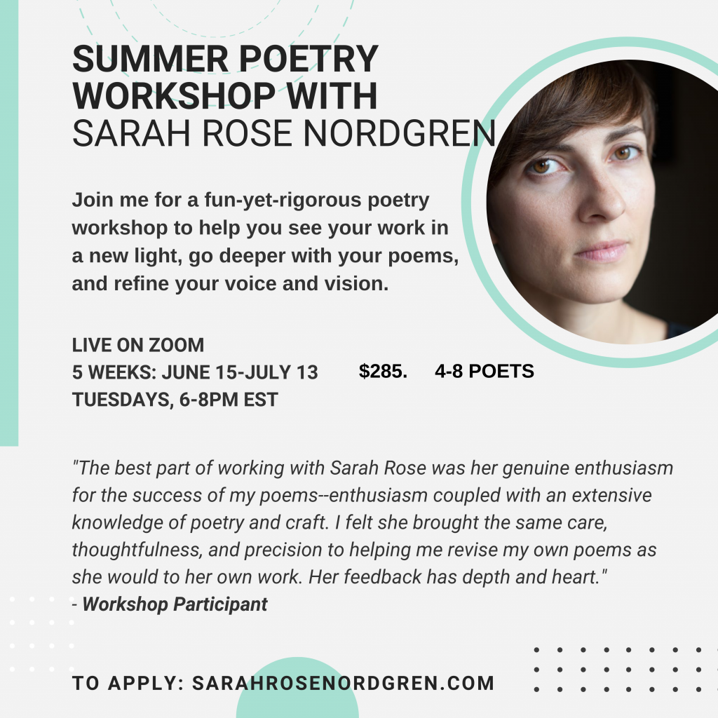 summer workshop flyer